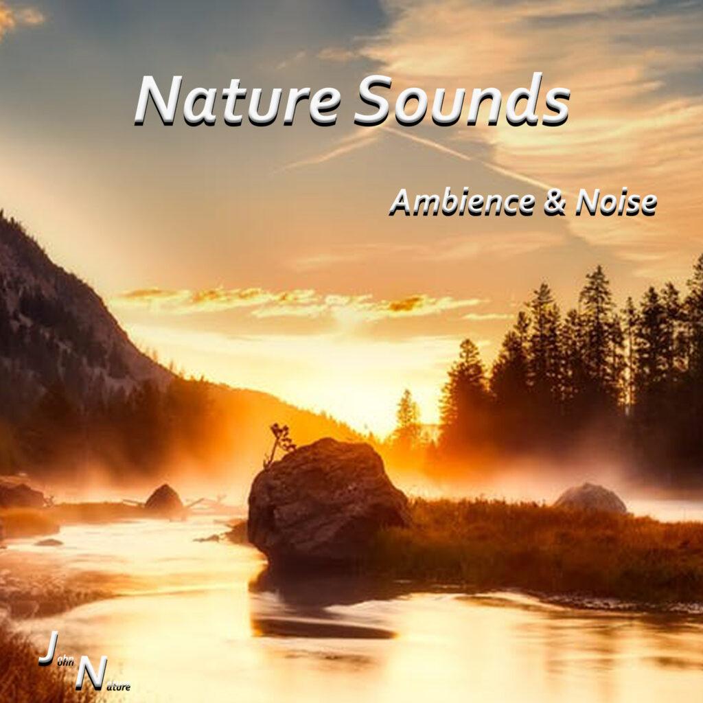 Naturgeräusche auf einem Album. Verschiedene Sounds aus der Natur