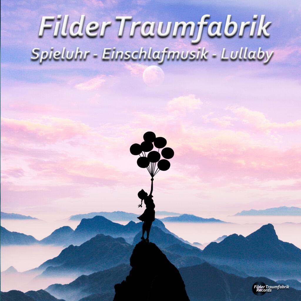 Spieluhr Albumcover - Mädchen mit Luftballons