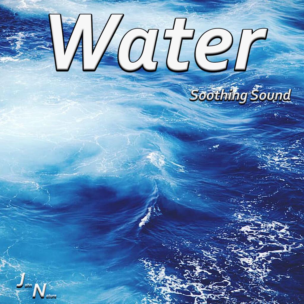 Beruhigender Sound. Wasser und seine Geräusche.